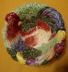 FITZ AND FLOYD COQ DU VILLAGE 7 INCH ROOSTER BOWL