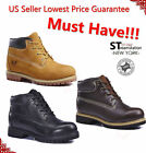 Jacata Mens Work Boots 6 Premium Waterproof Leather Snow Shoe 8601