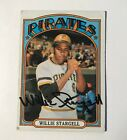 Willie Stargell Autographed 1972 Topps Pirates Card