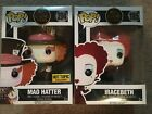 Funko Pop! Alice In Wonderland! HT Exclusive! Mad Hatter(ht), Queen of Hearts
