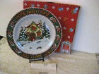 2000 Enesco Mary Engelbreit Home Sweet Home Christmas Cookie Plate Platter #ER