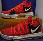 Nike Zoom KD 10 X Red Velvet Cupcake Kevin Durant 897815 600 Off White MC ASG