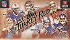Lot of 20 2014 Topps Turkey Red Football Box Carr, Evans RC Auto