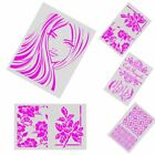 Layering Stencils Template Stamp Embossing Walls Painting Scrapbooking DIY Craft