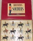 Old BRITAINS 1960s Lead, Mounted Band of the Life Guards, 12 Pc. Boxed Set #9406