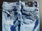 MISS ME SIGNATURE Boot cut JE5180B5L JEANS SIZE 25 Inseam 33 Color VTG 17