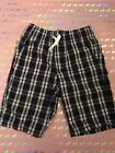 Carters Boys Plaid slip on Shorts Newsize 7