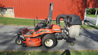 2005 KUBOTA ZD21 COMMERCIAL ZERO TURN MOWER W/ COLLECTION SYSTEM DIESEL 60