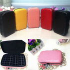 Essential Oil Case Leather Storage Box Multi Tray Carry Organizer Oils Container