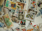 Hundreds of Vintage US Postage Stamps used removed from paper