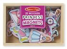 Melissa  Doug 20 Wooden Princess Magnets in a Box