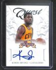 2012-13 Panini Crusade Quest Autograph # 4 Kyrie Irving