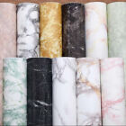 IK- Marble Effect Contact Paper Film Self Adhesive Peel-stick Wall Covering Nove