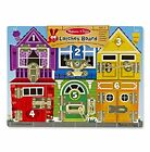 Melissa  Doug Latches Board Toy Hobbie Puzzle Educational Learning
