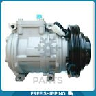 New A C Compressor for Toyota Corolla 1989 to 1999 OE 8832002030 QR