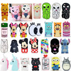 US 3D Cartoon Lovely Soft Silicone Gel Phone Case Cover For iPhone X 7 8 6 Plus