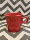 Fiestaware HLC (1) Coffee tea Mug Cup Ceramic Scarlet Red tom and Jerry handle