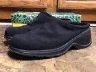 BEE FLY WOMENS BLACK WEDGE CLOGS SHOES SIZE 95M