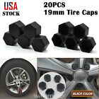 20 X Car Truck Wheel Tyre Centre Hub Screw Cover Tire Caps 19mm Rubber Christmas