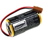 SPS lithium battery for Panasonic type A02B-0120-K106 3V 5000mAh/15Wh Lithium-Ma