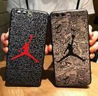 Jordan Soft Silicone Phone Case For Iphone 7Plus/8Plus/X /Samsung S8/S9 S9Plus