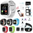 Bluetooth Smart Watch Phone Camera+SIM Card Slot+SD Card Kit For iPhone Samsung