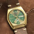 Vintage Candino 2000 Day Date Automatic Arabic Saudi Logo Swiss Made