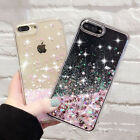 Luxury Glitter Stars Water Flow Phone Case Cover for Apple iphone 5 SE 6 6s+ 7
