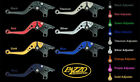 SUZUKI 1997-2001 TL1000S PAZZO RACING ADJUSTABLE LEVERS -  ALL COLORS / LENGTHS