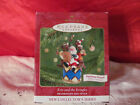 2002 Hallmark Christmas Ornament Kris and the Kringles Features Sound