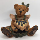 Boyds Bears Valentine's Day Figurine Bailey The Baker with Sweetie Pie 1994