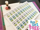 PP378 Money Saving Challenge Planner Stickers for Erin Condren 40pcs