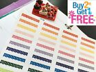 PP188 Weekend Banners Life Planner Stickers for Erin Condren 40pcs
