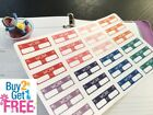PP181 Work Time Box Life Planner Stickers for Erin Condren 24pcsBUY2GET1FREE