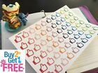 PP054 Small Thumbs Up Life Planner Die cut Stickers for Erin Condren 60pcs