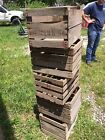 Collectible Vintage Wooden Apple Crates Only 3 left!