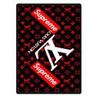 new limited great supreeme red black blanket 58 x 80 inch