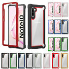 Ultra thin Slim Clear Shockproof Bumper Case Cover For Samsung Note 8 S9 Plus
