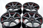 15 Wheels Rims Fit Miata Aveo Cooper Reno Sonata Corolla MR2 Yaris 4x100 4x1143