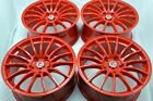 17 red Wheels Rims Fusion CL TL ILX tC xB Accord EX35 Tribute Prelude xB 5x1143