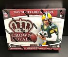 2015 Panini CROWN ROYALE Hobby Box Football