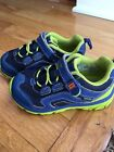 Stride Rite Toddler Boy Size 75 WIDE Athletic Shoes Blue