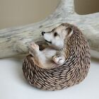 Hedgehog Figurine Curled Up Resin Statue Ornament New Animal 45 in