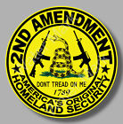 2nd Amendment Gadsden 2a Dont Tread On Me Sticker Decal Gun Rights Nra Usa