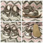 Sun San Sea Wees Saltwater Sandals Silver Size 0 Infant