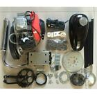 4 Stroke 49CC Gas Petrol Motorized Bicycle Bike Engine Motor Kit with Belt Gear