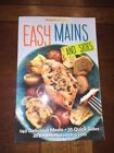 Weight Watchers EASY MAINS book Cookbook diet recipe Healthy Cooking Points 2014