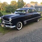 1949 Ford Custom Deluxe 1949 Black Restored Award Winner 3 Speed Great Driver Great Car
