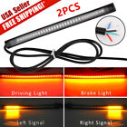 2X Integrated LED Tail Brake Stop Turn Signal Strip Light for all Motorcycle
