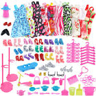 1Set Dress Up Clothes Lot Cheap Doll Accessories Handmade Clothing